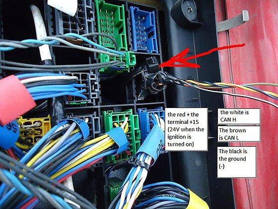 DAF AdBlue emulator installation manual