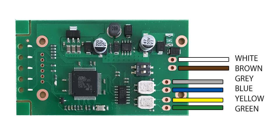 SCR emulator wiring FH4/FM4 EURO 5 (4-3)