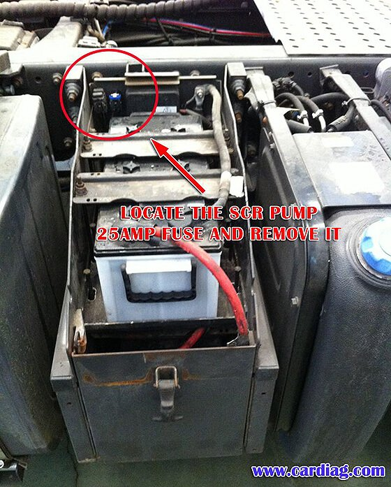 AdBlue Emulator V5 NOx installation manual for Renault trucks