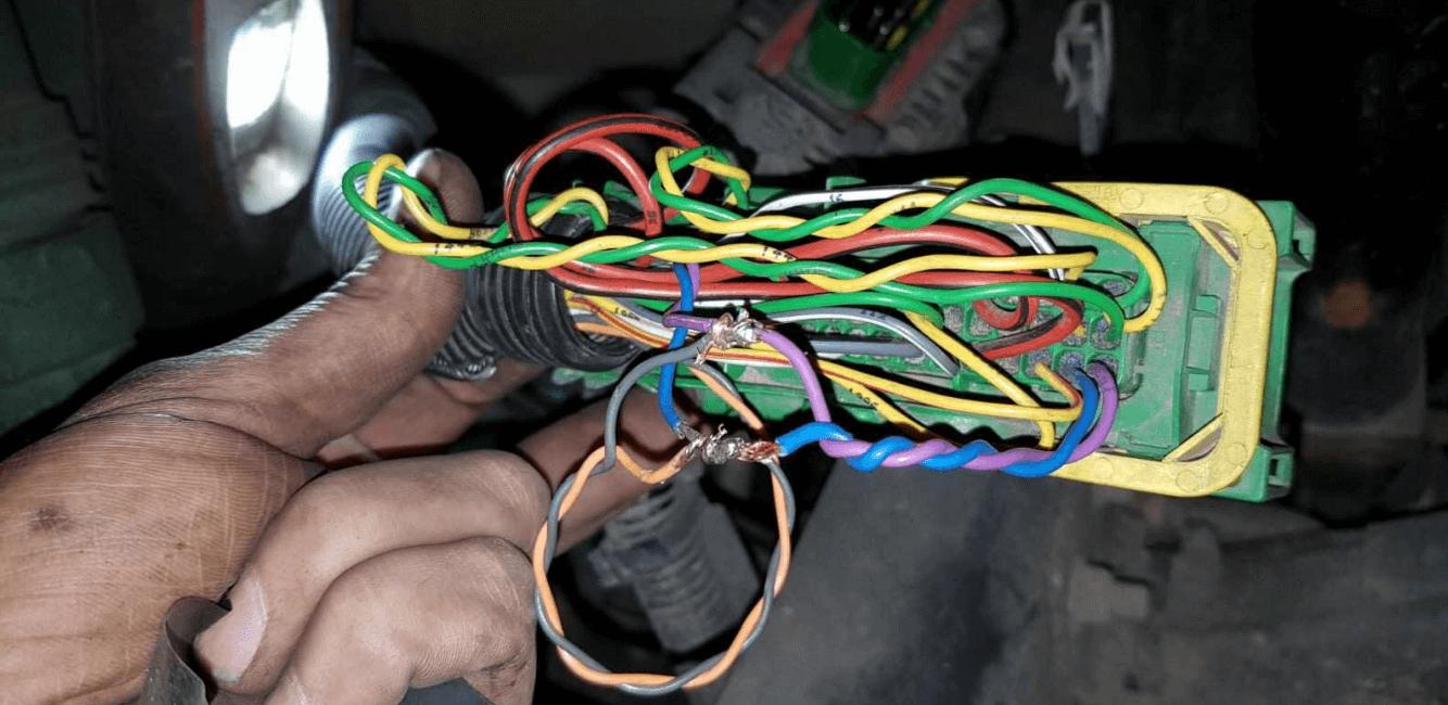 SCR wiring FH4/FM4 EURO 5 (3-1)