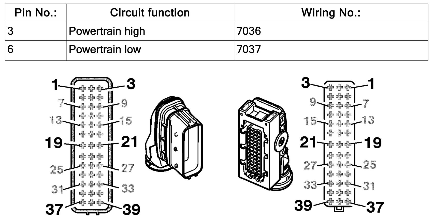 SCR wiring FH4/FM4 EURO 5 (3)