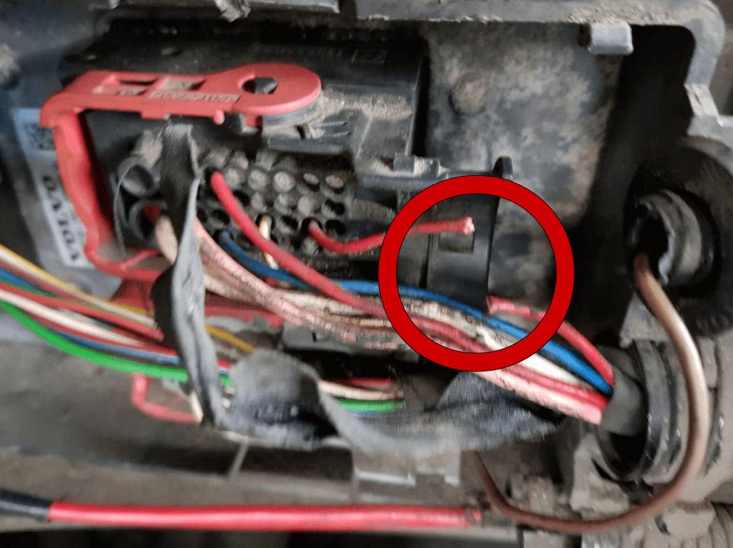 SCR wiring FH4/FM4 EURO 5 (4-3)
